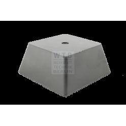 Pyramidenklotz Trapez-Gummiklotz 70 mm Universell einsetzbar